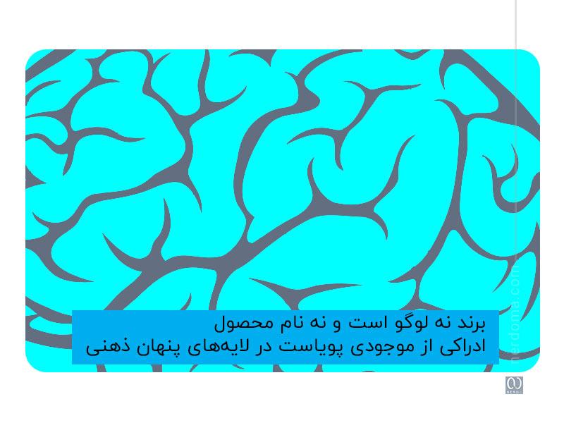 برند نه لوگو است و نه نام محصول؛ ادراکی از موجودی پویاست در لایه های پنهان ذهنی