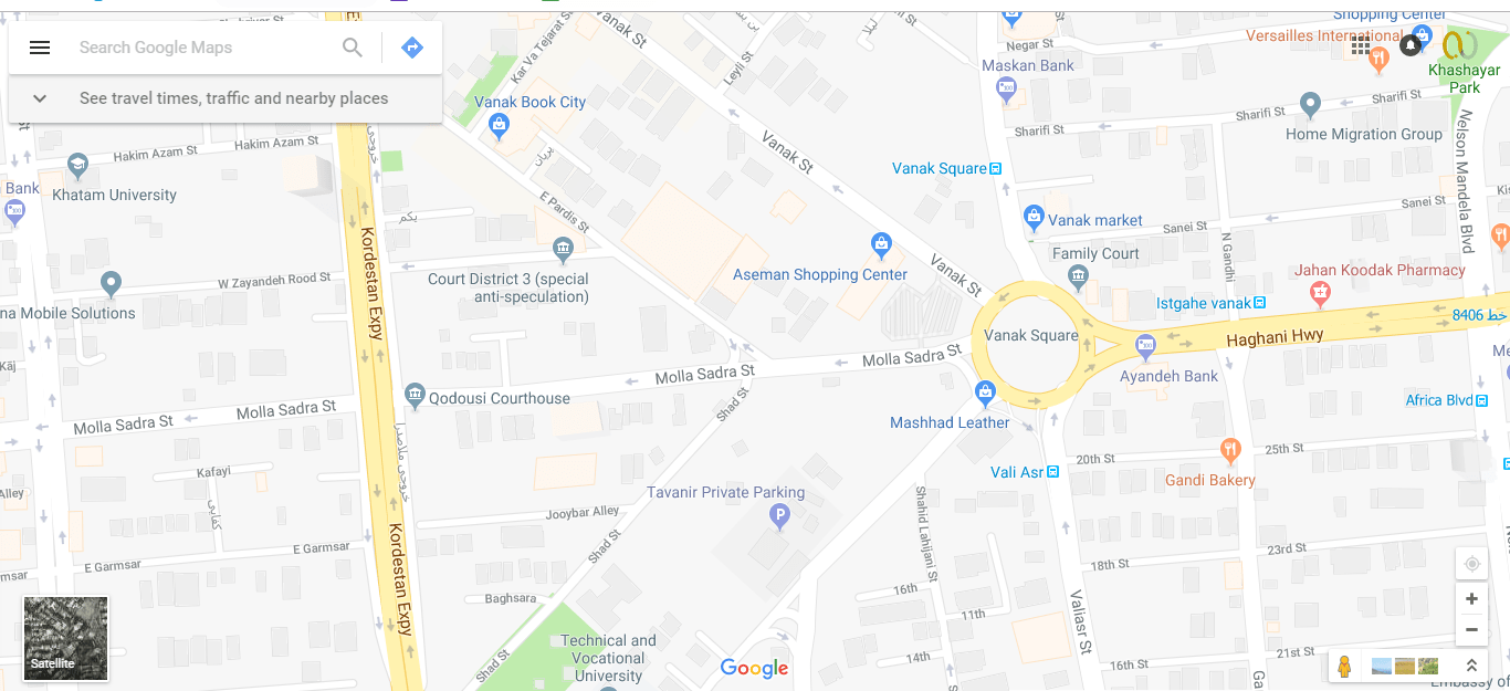 add place to google map