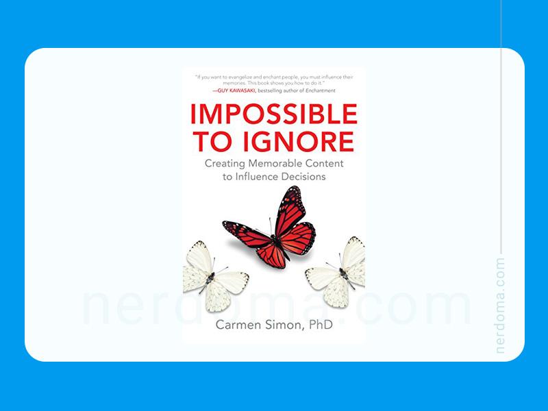 کتاب نادیده گرفتن غیر ممکن است نوشته کارمن سایمن