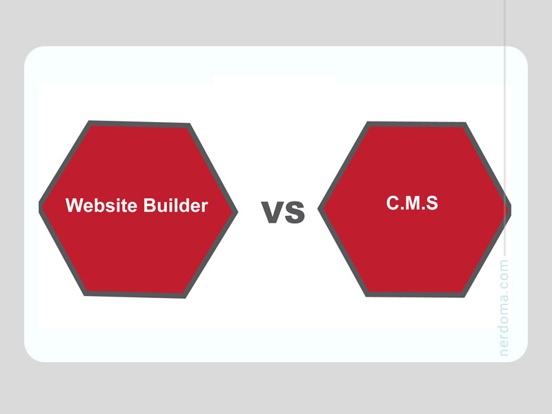 Cms ها در مقابل سایت ساز ها