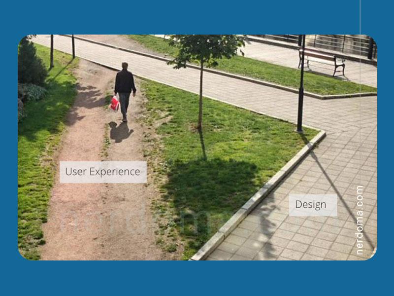 تقاوت ui و ux در دنیای واقعی مثال خیابان